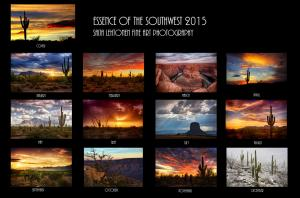 2015 Essence of the Southwest Calendars now available on pre-order
