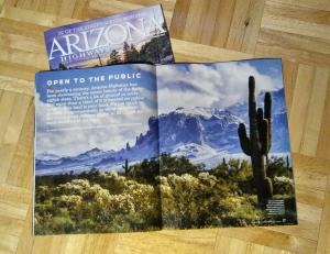 Published In Arizona Highways Magazine