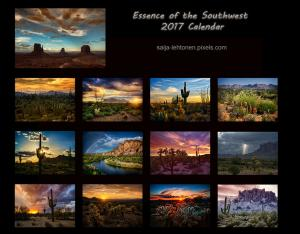 2017 Essence Of The Southwest Calendar